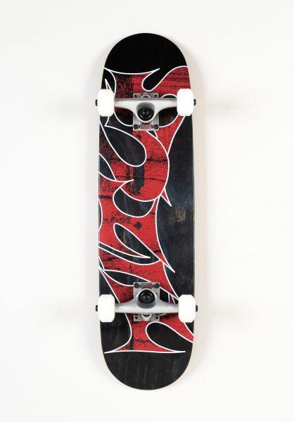 TITUS Kinder Skateboard komplett Stained Schranz Mini black-stained vorderansicht 0162133