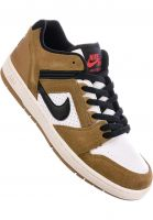 Nike SB Alle Schuhe Air Force II Low lichenbrown-black Vorderansicht