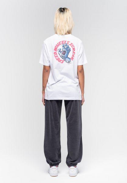 Santa-Cruz T-Shirts VNTG Screaming Hand white vorderansicht 0322922