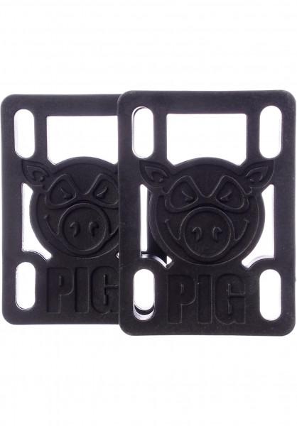 """Pig 1/2""""-Hard-Riser black Vorderansicht"""