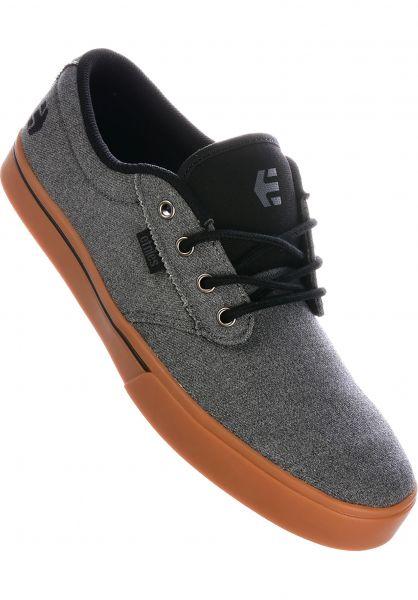 etnies Alle Schuhe Jameson 2 Eco grey-black-orange vorderansicht 0602360