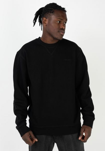 Carhartt WIP Sweatshirts und Pullover Ashland black vorderansicht 0423003