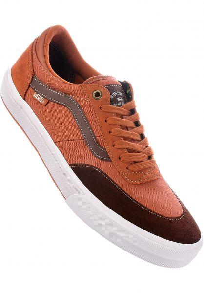 962ad6d2c4 Vans Alle Schuhe Gilbert Crockett Pro 2 leatherbrown-soil Vorderansicht