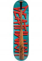 Deathwish Skateboard Decks Deathspray Spiked Bat blue Vorderansicht