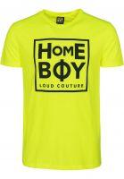 Homeboy T-Shirts New School neon-yellow Vorderansicht