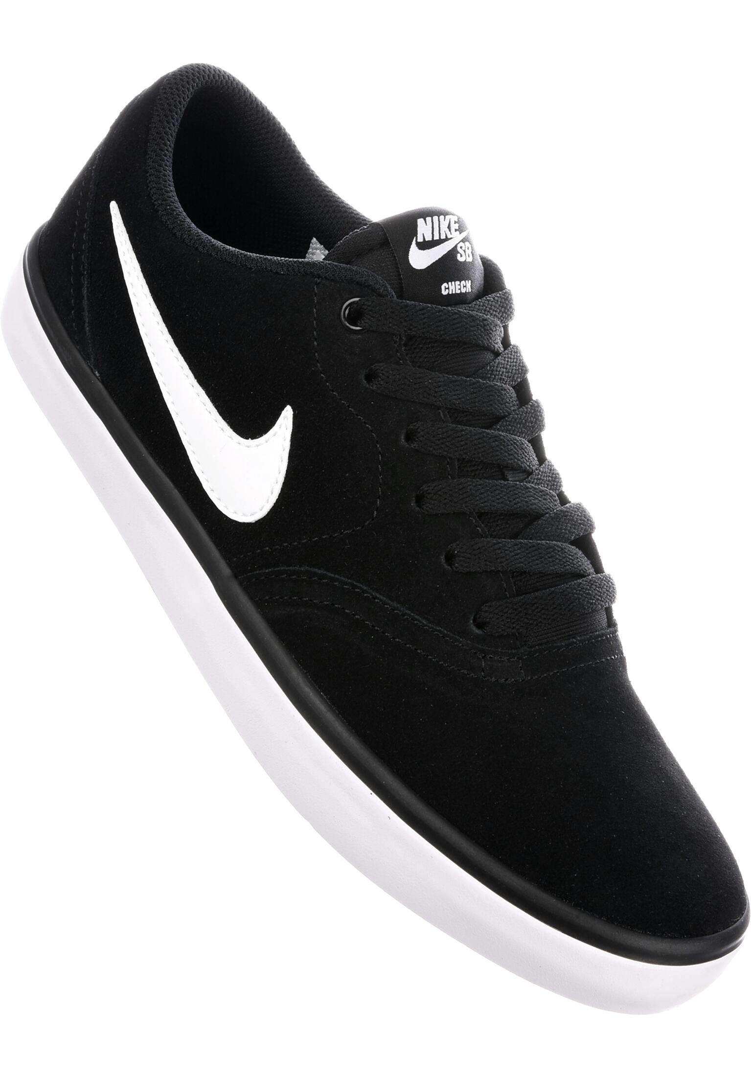 98f0c225a0668 Check Solarsoft Nike SB Alle Schuhe in black-white für Herren