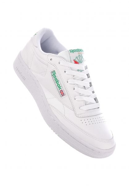Club C 85 Reebok All Shoes in white green for Women | Titus