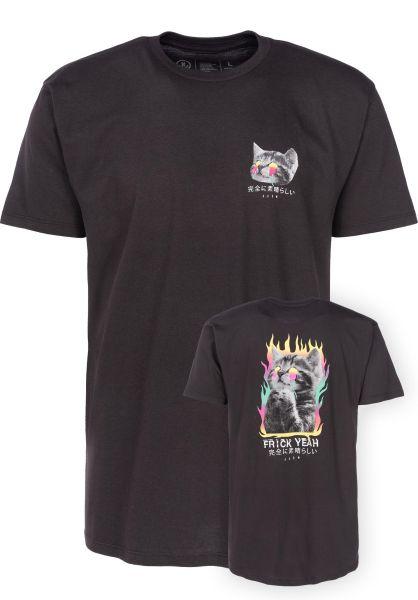 Neff T-Shirts Frick Yeah tar vorderansicht 0398124