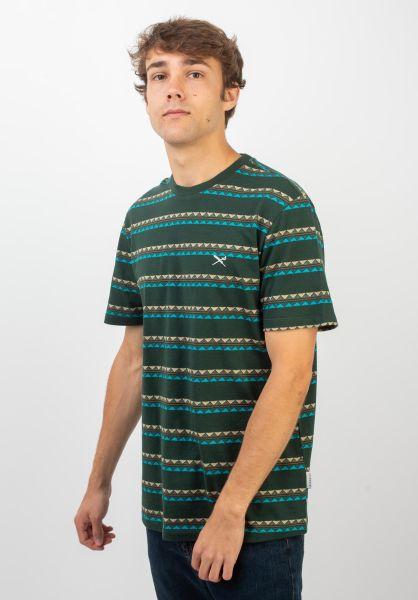 iriedaily T-Shirts Monte Noe Jaque hunter vorderansicht 0320399