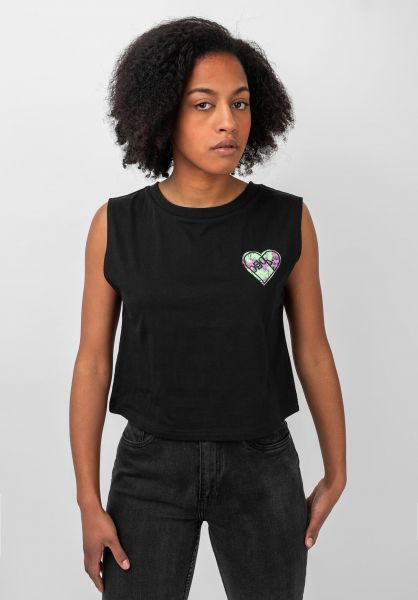 TITUS Tops Skateheart black vorderansicht 0352474