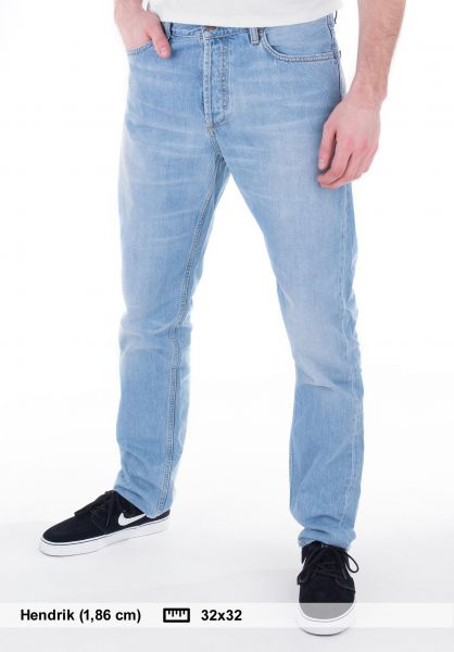 Texas Pant Ii Hanford Carhartt Wip Jeans In Blueburstwashed For