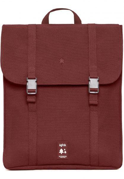 Lefrik Rucksäcke Handy Backpack garnet vorderansicht 0880953
