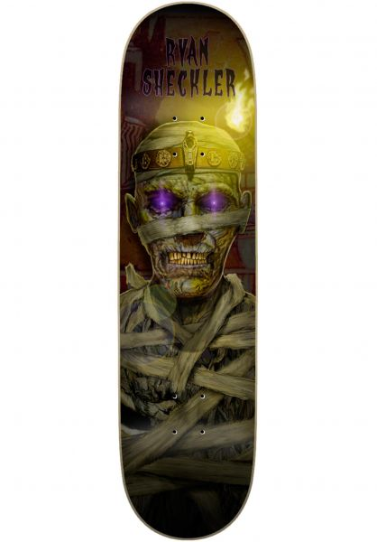 Plan-B Skateboard Decks Sheckler Mummy multicolored vorderansicht 0267363