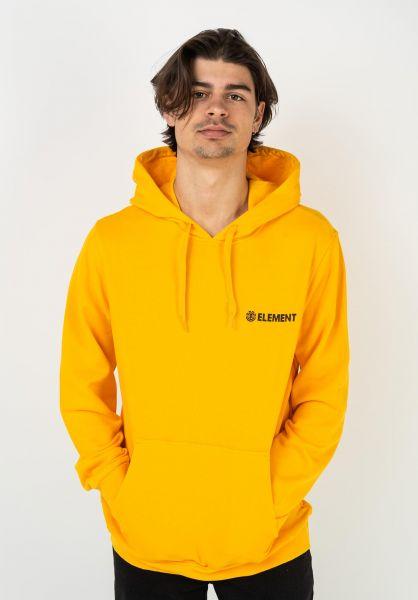 Element Hoodies Blazin Chest gold vorderansicht 0446094