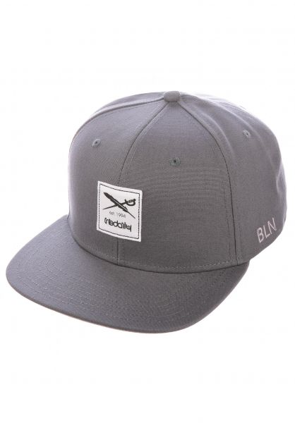 iriedaily Caps Daily Flag 20 charcoal vorderansicht 0566562