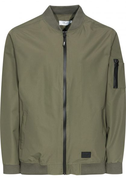 Reell Übergangsjacken Technical Flight Jacket olive Vorderansicht