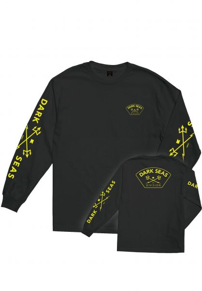 Dark Seas Longsleeves High Vis black vorderansicht 0382991