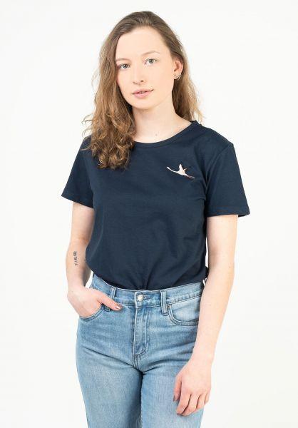 Mazine T-Shirts Blakely navy vorderansicht 0324031