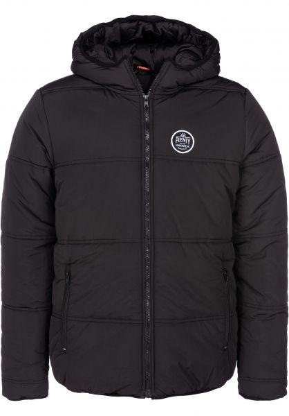 Plenty Humanwear Winterjacken Baxter Puffer black vorderansicht 0250063