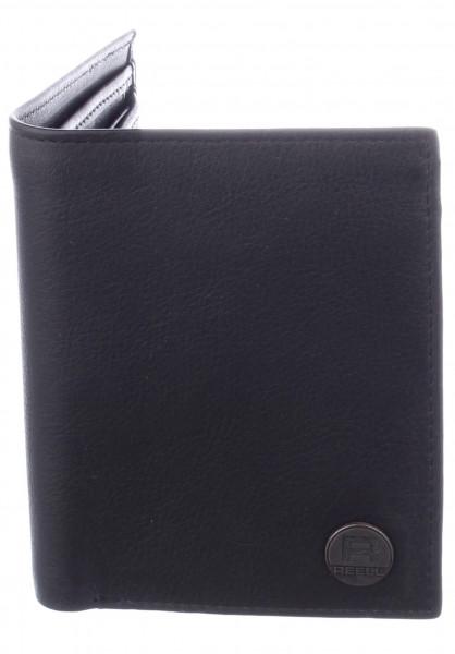 Reell Portemonnaie Clean Wallet black Vorderansicht