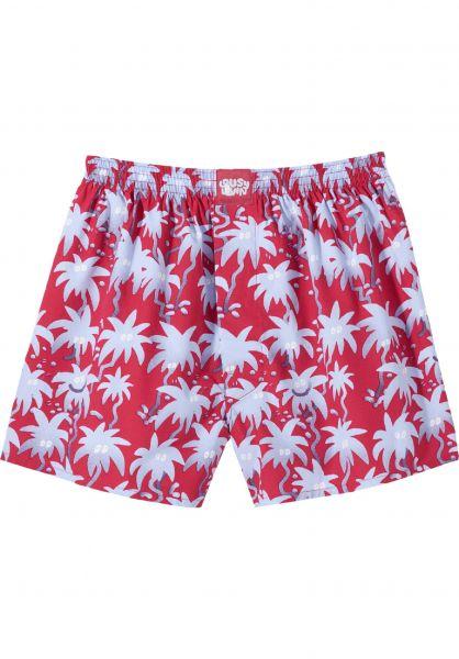 Lousy Livin Unterwäsche Palm red vorderansicht 0470827