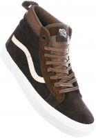 Vans Alle Schuhe Sk8 Hi MTE darkearth-brown Vorderansicht