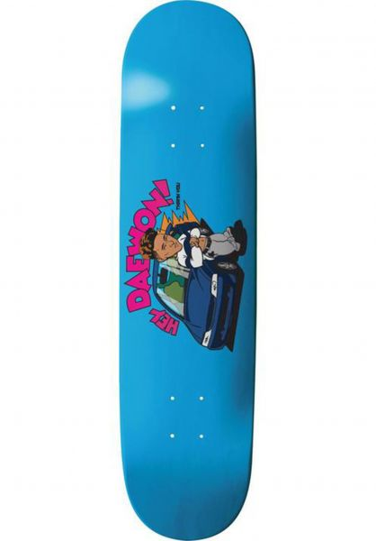 Thank You Skateboards Skateboard Decks Song Acura blue vorderansicht 0265289
