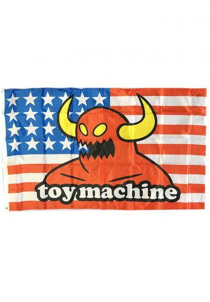 Toy-Machine Verschiedenes American Monster Flag multicolored Vorderansicht