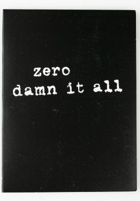 Zero Verschiedenes Damn It All DVD