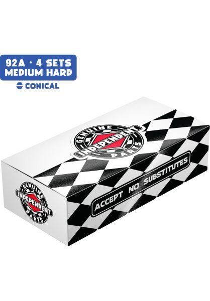 Independent Lenkgummis Standard Conical Cushions Medium Hard 92A blue Vorderansicht 0199129
