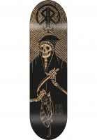 Rebel-Rockers-Skateboard-Decks-Chat-Noir-black-Vorderansicht