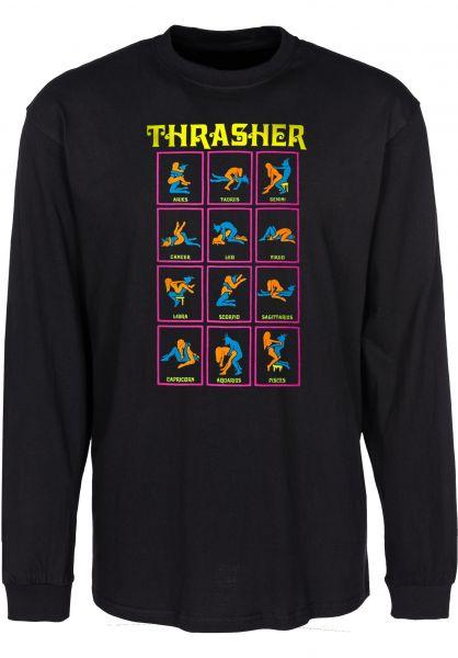 Thrasher Longsleeves Black Light L/S black Vorderansicht 0382884