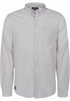 Mahagony Hemden langarm Mangan sand-stripe Vorderansicht