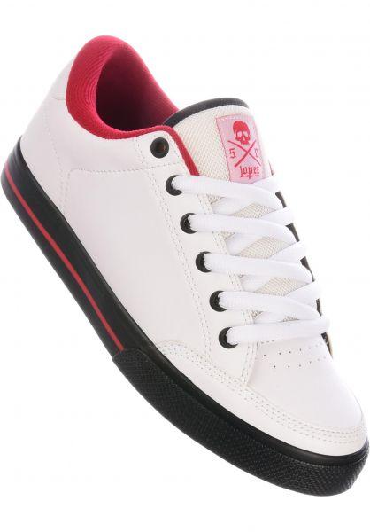 C1RCA Alle Schuhe Lopez 50 white-red-black vorderansicht 0603205