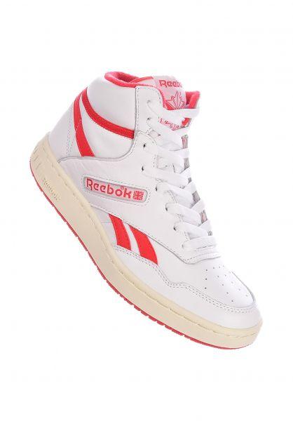 Reebok Alle Schuhe BB 4600 white-red vorderansicht 0612528
