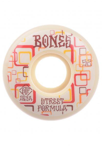 Bones Wheels Rollen STF Retros 103A V3 Slims white vorderansicht 0135057