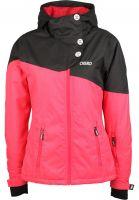 CNSRD-Snowboardjacken-Beth-flamingo-Vorderansicht