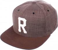 Reell-Caps-Homerun-brown-Vorderansicht