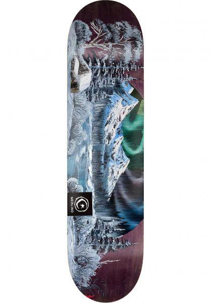 Foundation Skateboard Decks Merlino ´Scapes white vorderansicht 0264810