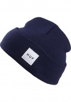 HUF-Muetzen-Box-Logo-navy-Vorderansicht