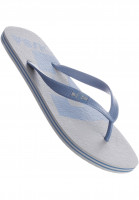 DC Shoes Sandalen Spray Logo grey-blue Vorderansicht