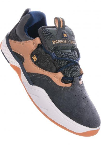 DC Shoes Alle Schuhe Kalis LE grey-darknavy vorderansicht 0604685