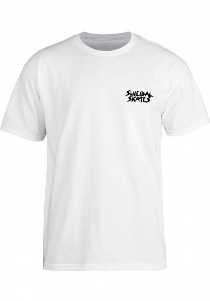Dogtown T-Shirts Possessed To Skate white Vorderansicht