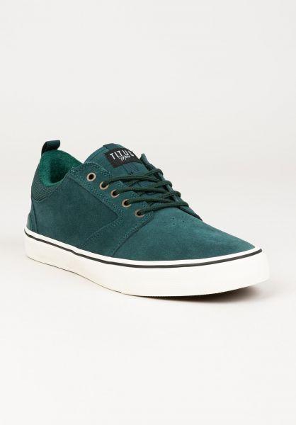 TITUS Alle Schuhe Manx spruce-white vorderansicht 0604303