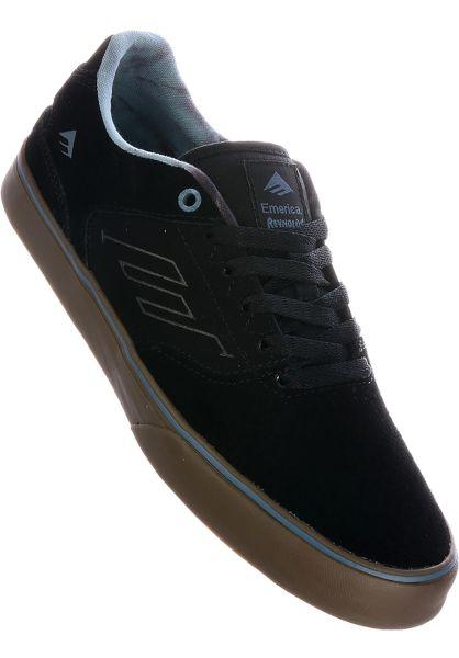 Emerica Alle Schuhe Reynolds Low Vulc black-gum-grey vorderansicht 0603530