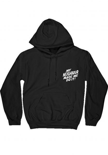 Telum Hoodies Neighbour black vorderansicht 0446289
