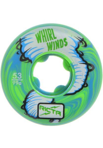Ricta Rollen Whirlwinds Swirl 99a Ricta blue-green vorderansicht 0134300