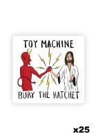 toy-machine-verschiedenes-bury-the-hatchet-sticker-set-25-pk-white-vorderansicht-0972823
