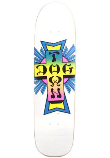 Dogtown Skateboard Decks Pool School white vorderansicht 0119572