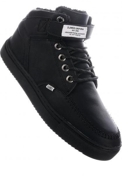 Djinns Alle Schuhe Wunk 3.0 Fur black-black vorderansicht 0604492